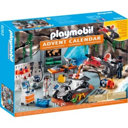 Playmobil Christmas Calendar Craciun Agent Secret PM9263