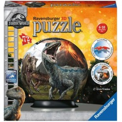 Puzzle Glob Ravensburger - Jurassic World, 72 piese