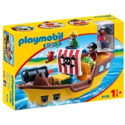 Playmobil 1.2.3. Barca Piratilor PM9118