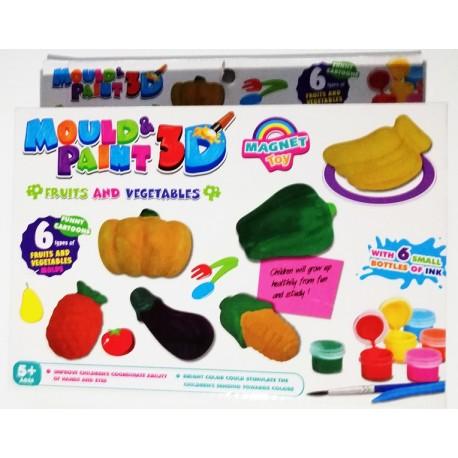 Creeaza si coloreaza fructe si legume