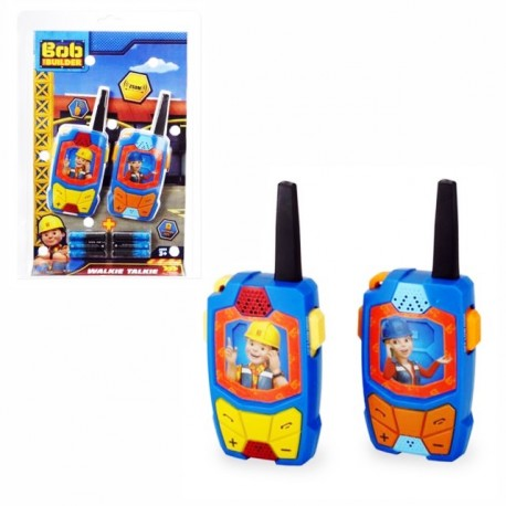 Walkie Talkie Bob Constructorul - Dickie Toys