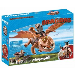 Joc Playmobil Dragons II, Fishlegs si Meatlug PM9460