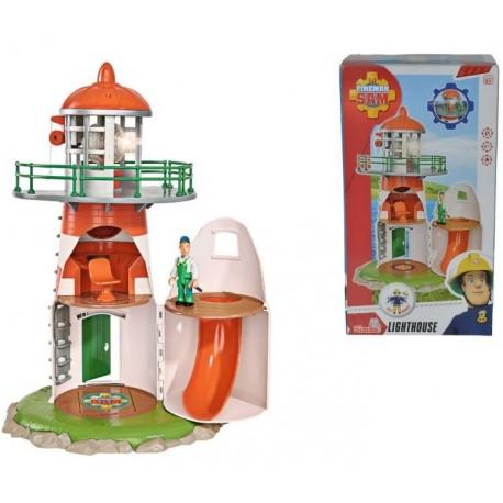 Set de joaca Pompierul Sam Farul de veghe, Simba Toys