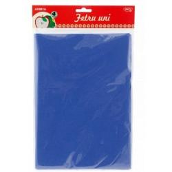 Accesorii craft - AD081A Fetru uni Set 4 albastru DACO