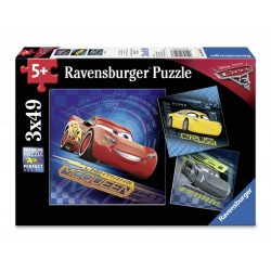 Puzzle Cars, 3X49 Piese, Ravensburger 08026