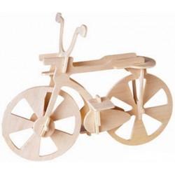 Joc puzzle lemn 3D bicicleta