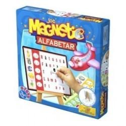 Joc magnetic alfabetar cu tabla D-toys