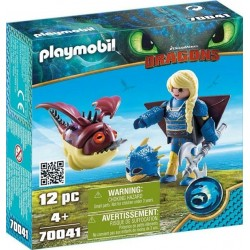Astrid si Hobgobbler, Playmobil Dragons III, PM70041