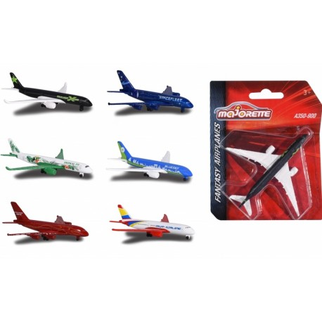Avion metal Fantasy Airplane Majorette 13 cm