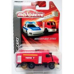 Masinuta de pompieri die-cast Mercedes Benz Zetros