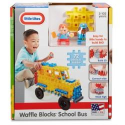 Blocuri De Constructie Little Tikes - Autobuz Scolar