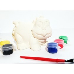Set Ceramic Paint pusculita Dinozaur