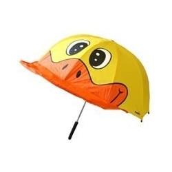 Umbrela pentru copii in forma de ratusca