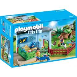 Crescatoria de iepurasi si hamsteri Playmobil PM9277