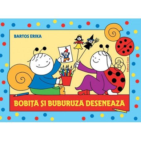 Bobiţă şi Buburuză desenează