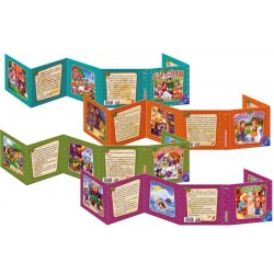 Set 4 Carti Pliante D-Toys, Basme