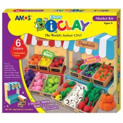 Set Plastilina iClay Amos Market Kit