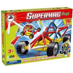 Set Constructie Supermag Maxi Wheels, 76 Piese