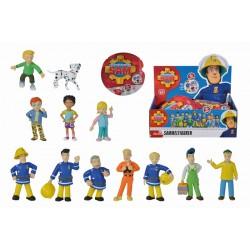 Figurine colectibile Pompierul Sam, 5-7 cm, 12 modele