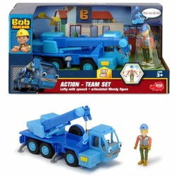 Action Team Vehicul Lofty + figurina Wendy Constructorul
