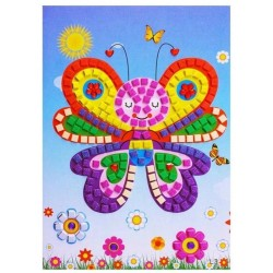 "Joc creativ mozaic ""Fluturas"""