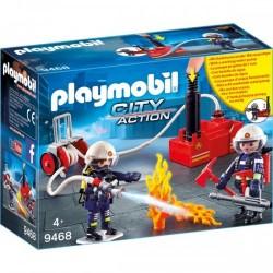 Pompieri Cu Pompa De Apa Playmobil  PM9468
