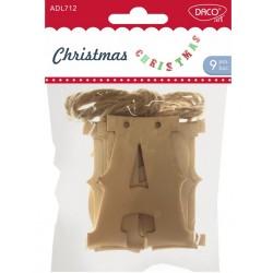 Accesorii craft - ADL712 Christmas DACO