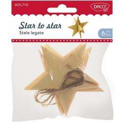 Accesorii craft - ADL710 stele legate DACO