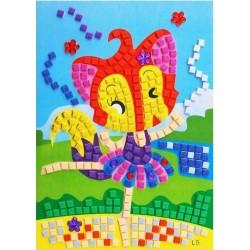 Joc creativ mozaic vulpita balerina