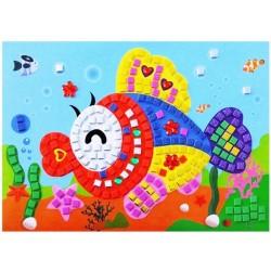 Joc creativ mozaic pestisor