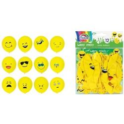 Set 12 baloane Emoticoane Fiorello