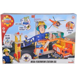 Mega Statie de pompieri XXL, Pompierul Sam, Simba Toy