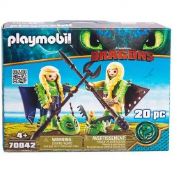 Raffnut si Taffnut in costume de zbor  Playmobil PM70042
