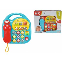 Jucarie interactiva Telefon bebelusi cu sunete si melodii