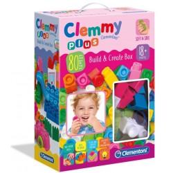 Set Constructie Clemmy Plus Fete,  80 Piese