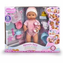 Nenuco - Papusa Bebe Sara cu Accesorii