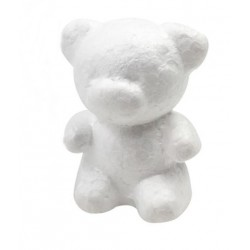 Ursulet polisteren 10cm