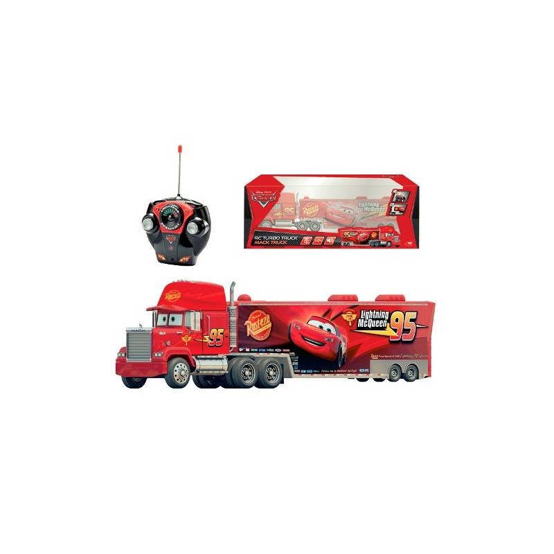 jucarii copii camion turbo mack cu radiocomanda dickie cars 2. Black Bedroom Furniture Sets. Home Design Ideas