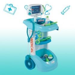 Troliu medical cu accesorii Smoby