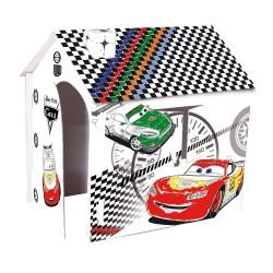 Casuta de joaca de colorat pentru copii Cars John