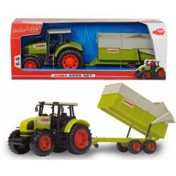 Tractor Claas cu remorca, 38cm, 3736004 Dickie
