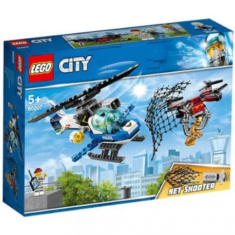 LEGO City Urmarirea cu Drona a Politiei Aeriene 60207