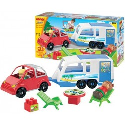 Set Constructii Caravana Ecoiffier