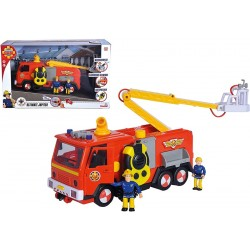 Masina Pompieri Jupiter Deluxe cu figurine si accesorii - Fireman Sam