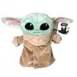 Jucarie de plus Disney Baby Yoda 25 cm