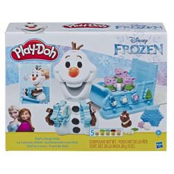 Set Play-Doh Saniuta lui Olaf si fulgii de zapada