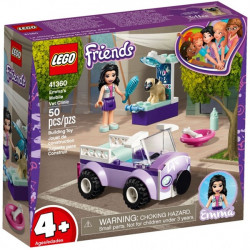 LEGO Friends Clinica veterinara mobila a Emmei 41360