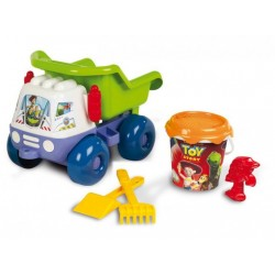 Smoby Toy Story Camion + Galeata nisip + accesorii
