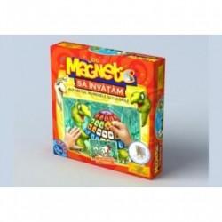 Joc magnetic - Sa invatam alfabetul, numerele si culorile de la D-Toys