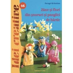 Zâne şi flori din şnururi şi panglici de hârtie - Ed. a II a - Idei Creative 46